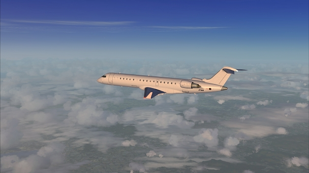 FSX+IF Screenshot: Early Morning Mists