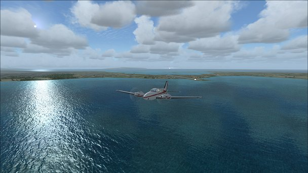 FSX+IF Screenshot: Indonesia