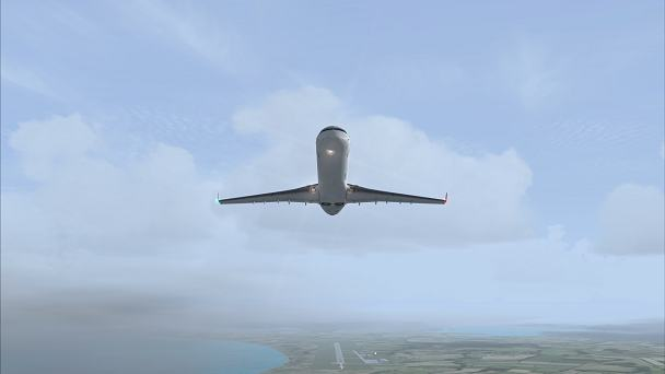 FSX+IF Screenshot: Tropical Shower