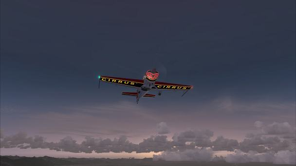 FSX+IF Screenshot: Clear Evening