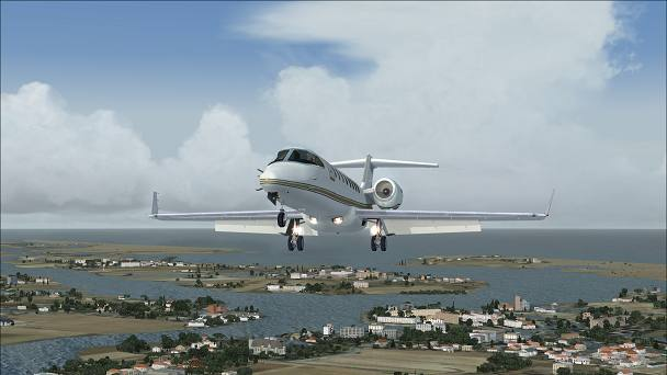 FSX+IF Screenshot: CB giant anvil out at sea