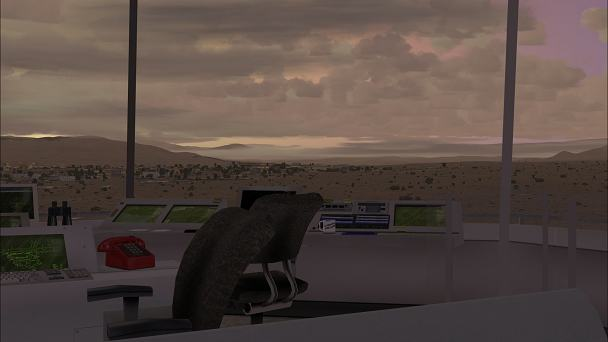 FSX+IF Screenshot: Tower View